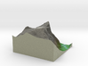 Terrafab generated model Fri Nov 01 2013 16:00:30  3d printed