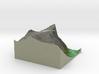 Terrafab generated model Fri Nov 01 2013 16:00:30 3d printed