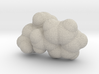 Methamphetamine molecule (x40,000,000, 1A = 4mm) 3d printed