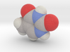 Thymine molecule (x40,000,000, 1A = 4mm) 3d printed