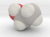 Ethanol molecule (x40,000,000, 1A = 4mm) 3d printed