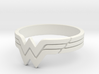 Wonder Woman Ring, Size 7 3d printed