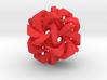 Icosahedron VII, medium 3d printed