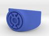 Blue Hope GL Ring (Szs 5-15) 3d printed