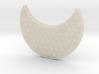 Moon Pendant 3d printed