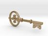 Kappa Key Pendant 3d printed