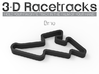 Brno 3d printed Track with no run off areas
