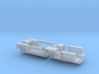 7203A • 1×British M14 and 1×M9A1 Half-track Bodies 3d printed