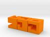 Oskar's Cubes Metallic 3d printed