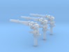 Pulverwerfer 3Stück 3d printed