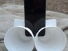 iPhone5 Stereo Acousticup Collapsible Amplifier 3d printed Perfect BBQ party companion!