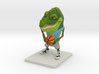B Ball Gator 3d printed