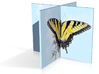 Butterfly Twist - 4in 3d printed