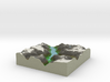 Terrafab generated model Mon Sep 01 2014 05:07:37  3d printed
