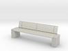 Garden bench 1-24 3d printed
