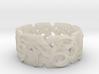 Celtic - lattice with vine 3d printed