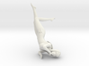 Female Laying Down 3d printed
