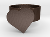 wonky heart ring 3d printed