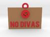 No Divas Sign(2) 3d printed