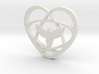 Atom Star Heart Bird 3d printed