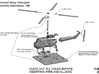 Westland Wasp Helicopter Kit 1/96 3d printed