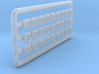 Conrail GE Marker Lights- HO scale 3d printed