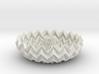 Miura Bowl / Dome Decor Lite 3d printed