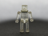 """Minimates Child 3d printed Shown printed in """"Transparent Detail"""""""