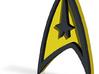 star trek insignia 3d printed