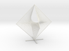 Tetrahemihexahedron Curve Stitching 3d printed