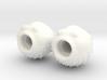 Blowfish Valve Caps - Shrader 3d printed