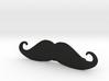 """Italian"" Moustache Tie Bar (Plastics) 3d printed"