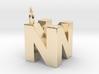 N64 Logo - SOLID 3d printed