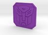 autobot badge 3d printed