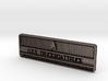 TruckBoatTruck Badge 3d printed