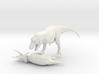 Dinosaur Tyrannosaurus VS Triceratops 1:72 3d printed