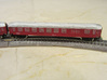 DSB Intercity train T gauge 1:450 (Cars only) 3d printed DSB class BD car
