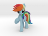 Rainbow Dash 3d printed