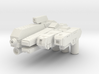 Custom weapon system pack for Lego minifigs 3d printed
