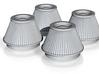 1/16 K&N Cone Style Air Filters TDR 4600 3d printed