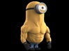 Stero The Minion  3d printed A minion called #STERO, loves to work out and addicted to steroids!