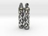 Tritium Earrings 1 (All Materials) 3d printed