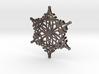 Arcs Snowflake - 3D 3d printed