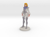 Carly homage Space Woman 6.4inch Full Color Statue 3d printed