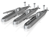 Ramrod Submarine 3d printed