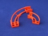 Marble Run Bricks: Curved Track Set 3d printed set content