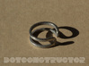 Switchback Ring - Size 6.5 3d printed