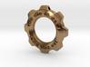 Steampunk Gear Pendant 3d printed