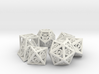 Deathly Hallows Dice Set 3d printed