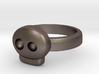 Simply Skull Ring - size 6.5 3d printed